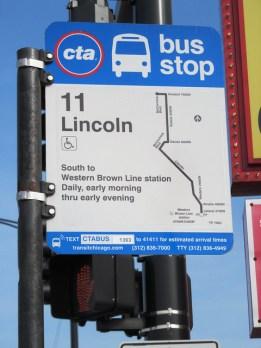 #11 Lincoln CTA Bus Route