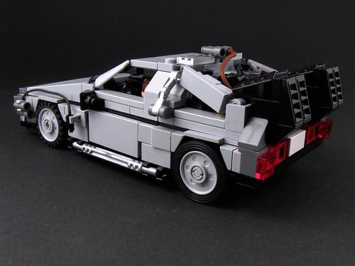 DeLorean - Side View