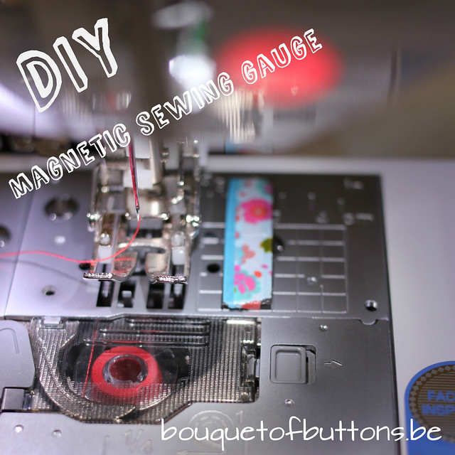 diy magnetic sewing gauge