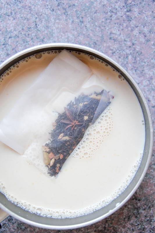 chai in the pot