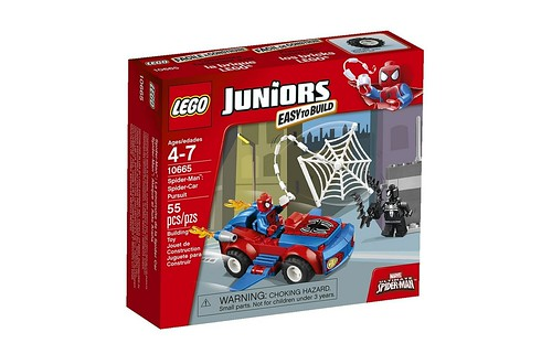 10665 Juniors Spider-Man Spider-Car Pursuit BOX