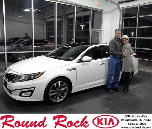 Thank you to Debra Blackmon on your new 2014 #Kia #Optima from Eric Armendariz and everyone at Round Rock Kia! #NewCar by RoundRockKia