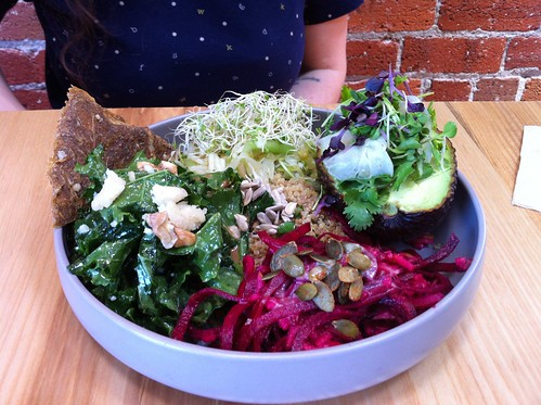 bird bowl of delicious things