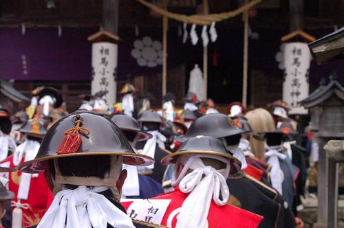 相馬野馬追 標葉郷出陣・小高郷御発輿(小高神社) Soma-Nomaoi Festival 2013