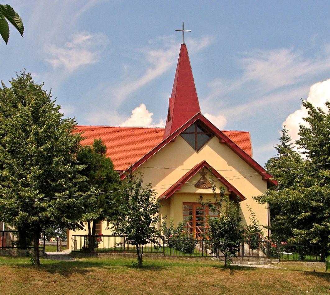 Katolícky kostol v Záhorciach