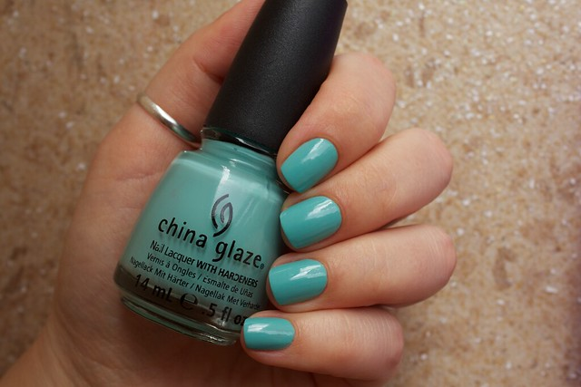 03 China Glaze For Audrey swatches