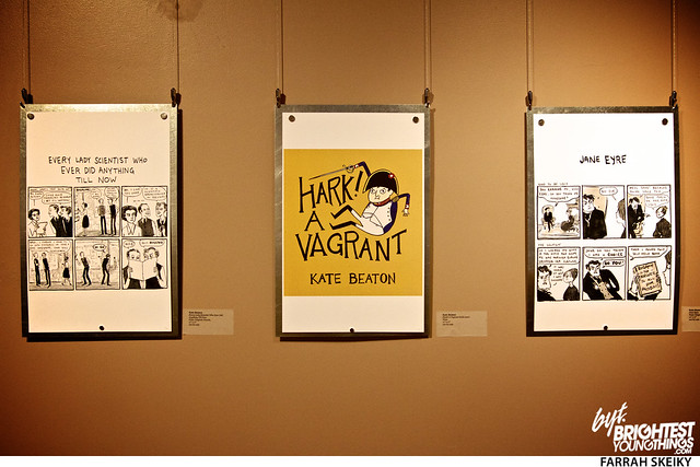 The Art of Comic Books Mansion at Strathmore Brightest Young Things Farrah Skeiky 48