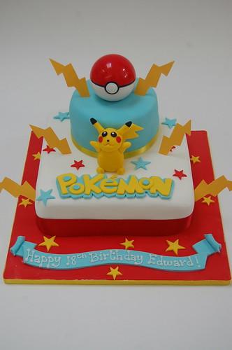 Pokemon Cake Beautiful Birthday Cakes