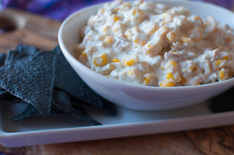 Bacon and Bleu Hot Corn Dip 5
