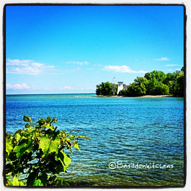 Aug 3 - lighthouse {the lighthouse at Long Point} #photoaday #lighthouse #lakeontario #princeedwardcounty