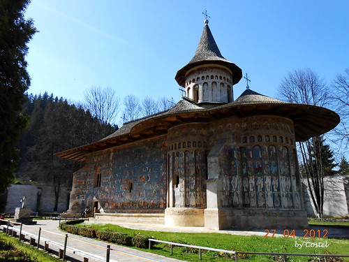 Voroneț Monastery by Cost3l