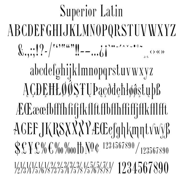 Superior Latin