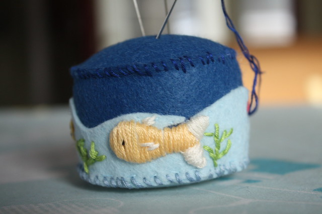 Another pincushion