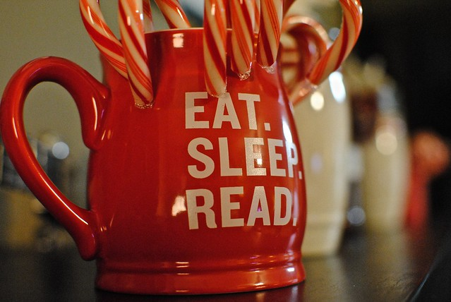 Eat. Sleep. Read.
