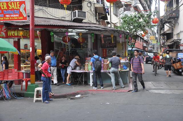 On a Corner in Manila Chinatown