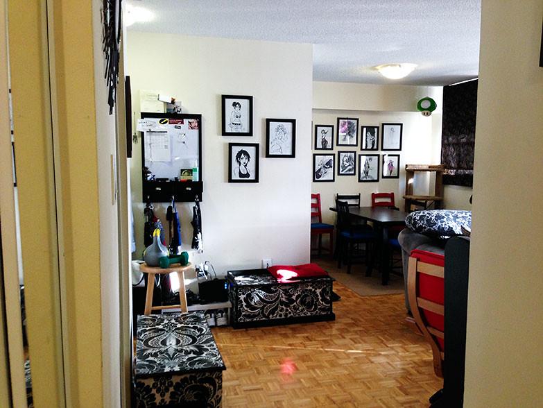 Main living area.