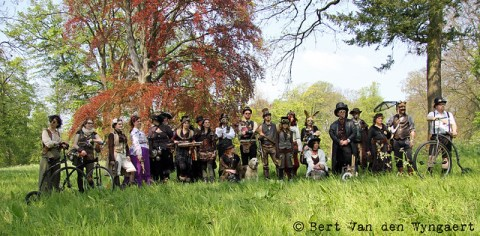 Steampunk group shot
