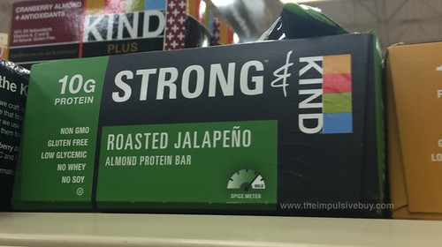 Strong & Kind Roasted Jalapeno Almond Protein Bar