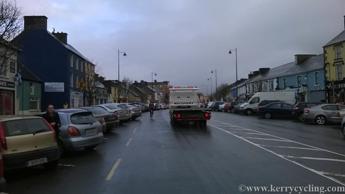 Leaving Castleisland town