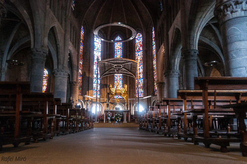 Real Colegiata de Santa Maria de Roncesvalles per dins