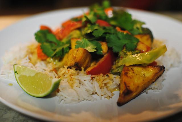 Thai Curry with Tofu