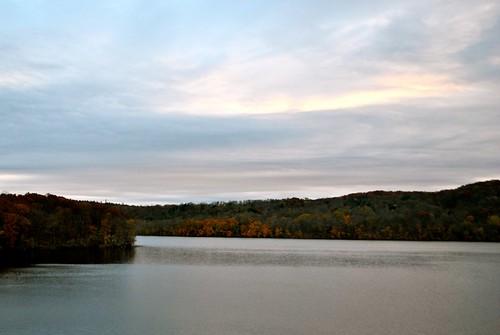 Sunrise over Croton Reservoir