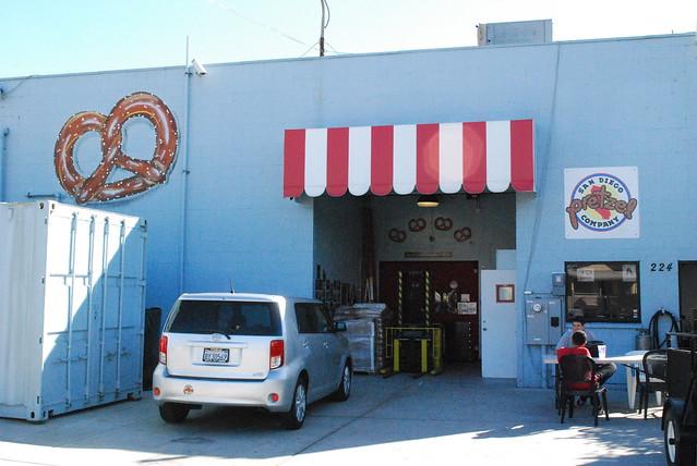 San Diego Pretzel CO exterior