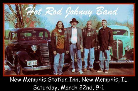 The Hot Rod Johnny Band 3-22-14