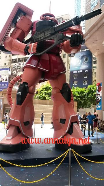 Gundam HK exhibit