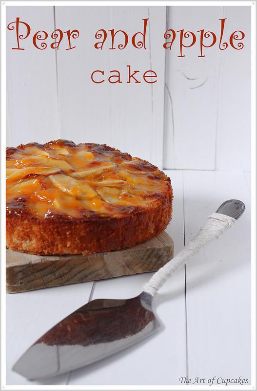 Pear adn apple pye, bizcocho de pera y manzana, the art of cupcakes