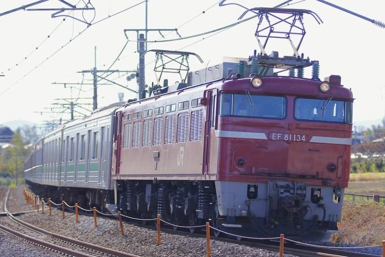埼京線205系ハエ23編成 海外譲渡輸送