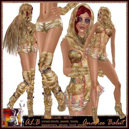 ALB CELUNA outfit - MESH  - AnaLee Balut - ALB DREAM FASHION by AnaLee Balut