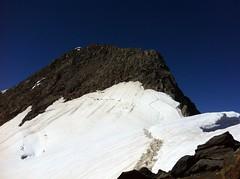 Aufstieg Rötspitze