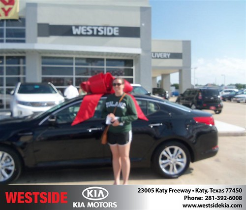 Happy Birthday to Jessica Prado from John Buchan  and everyone at Westside Kia! #BDay by Westside KIA