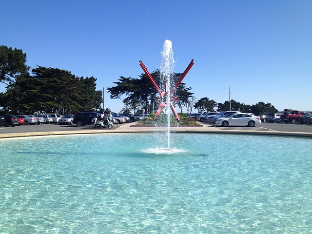 Legion of Honor fountain
