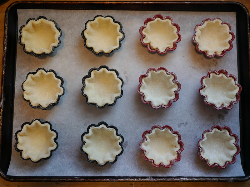 Pumpkin pie shells