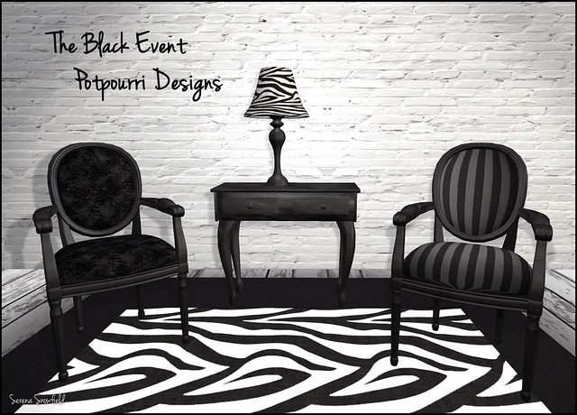 The Black Event: Potpourri Designs