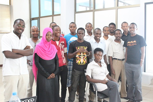 Participants of the Bootcamp