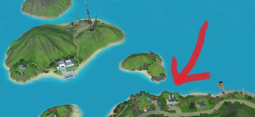 Sims  Island Paradise Map Fix