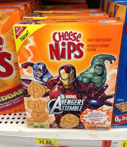 Nabisco Cheese Nips Avengers Assemble