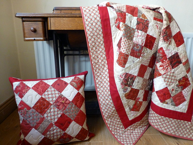 Commission Quilt & Cushion