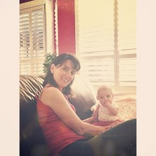 Grandma & Olivia.