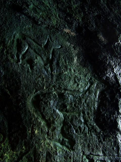 King's cave graffiti 6