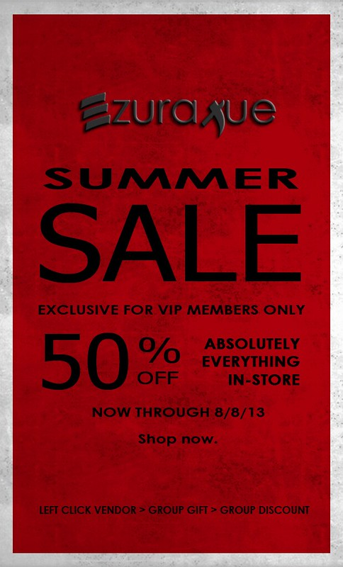 ezura + VIP SUMMER SALE!