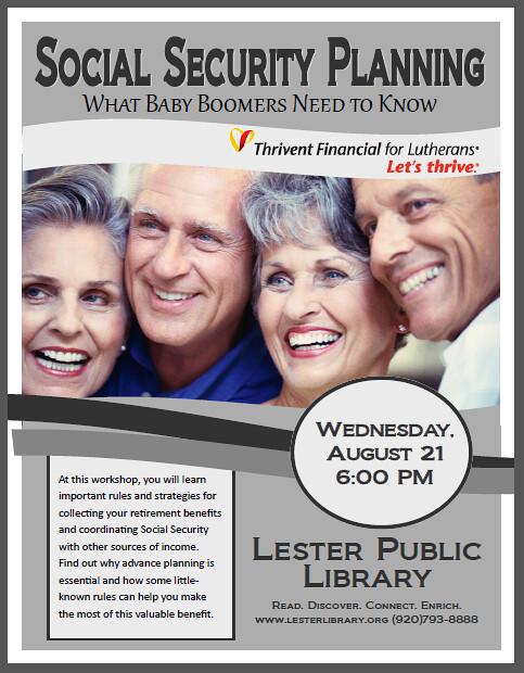 Social Securtiy Planning