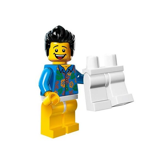 The LEGO Movie Minifigures Where are my Pants Guy