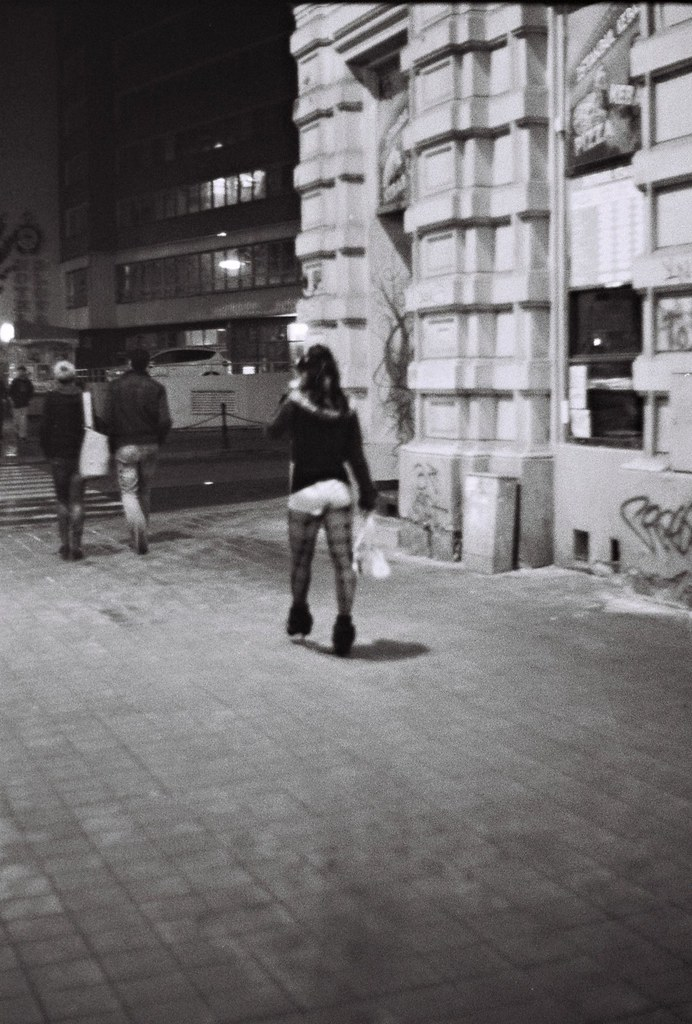 Praktica BC1 - Night Street 1