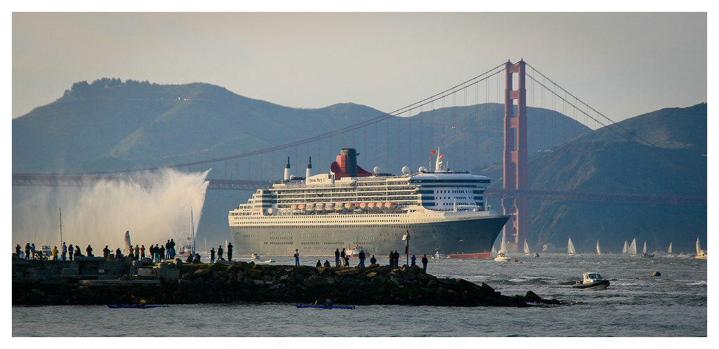 Queen Mary 2 - San Francisco - 2007
