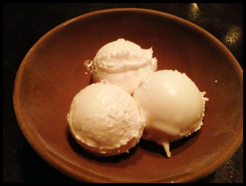 Today's Sorbet: Coconut