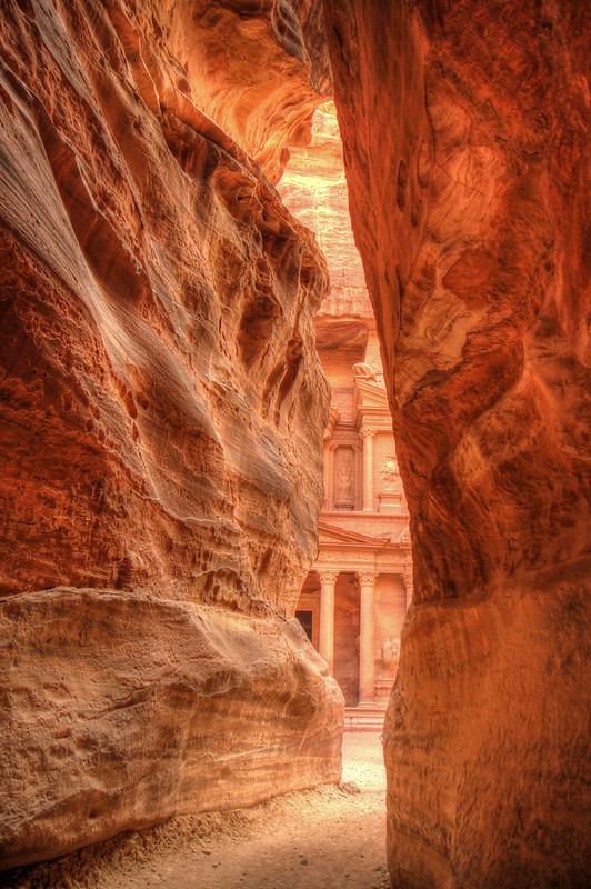 Al Siq,Petra, Jordan